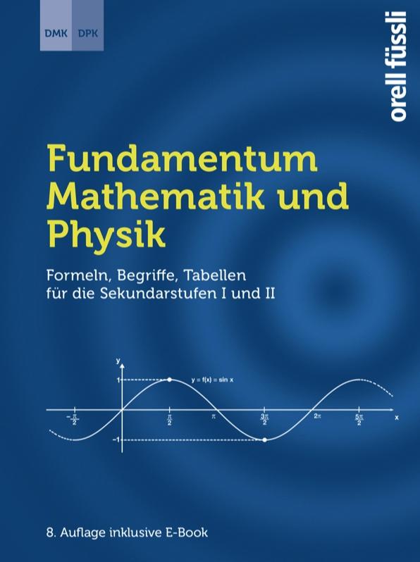 formeln und tabellen fr die sekundarstufen i und ii